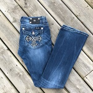 Miss Me Boot Cut Jeans 30